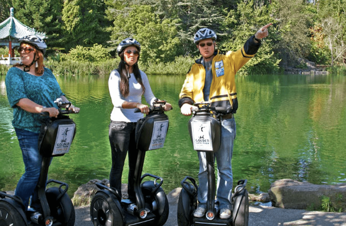 Golden Gate Park Segway Tours - Explore 1000 Amazing Acres in a Day!