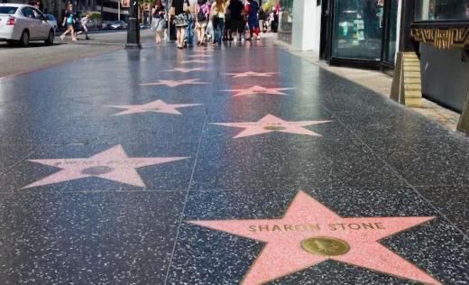 Hollywood Walk of Fame, Los Angeles, CA - California Beaches