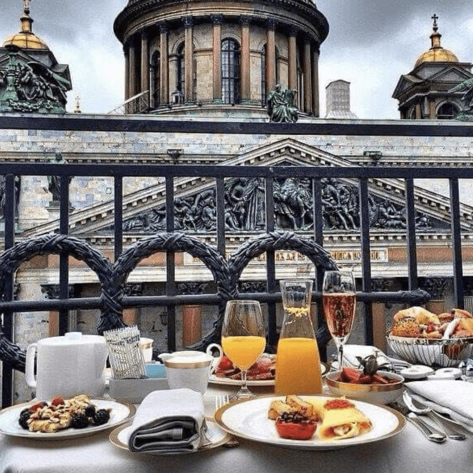 завтрак Санкт-Петербург