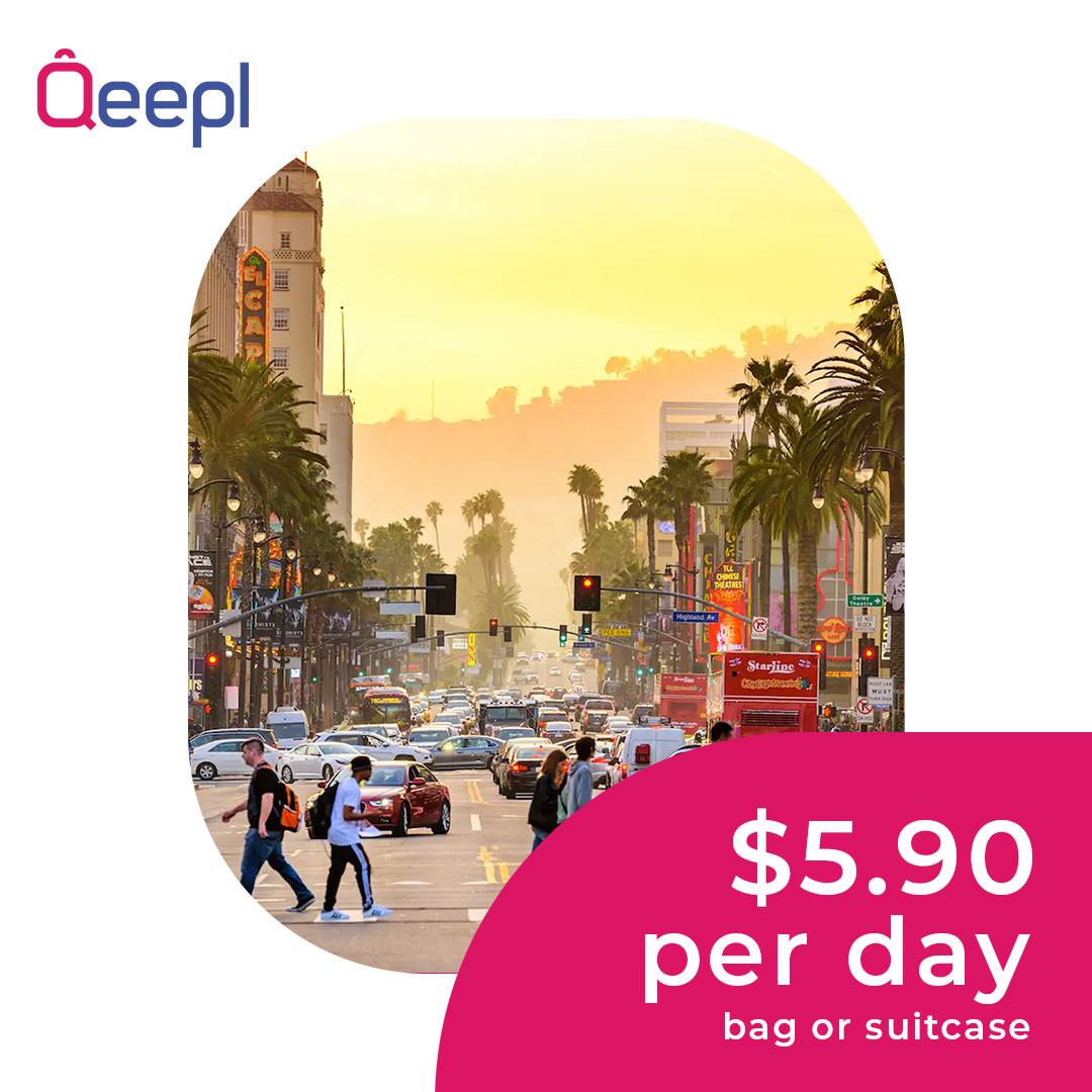 LOS ANGELES LUGGAGE STORAGE QEEPL
