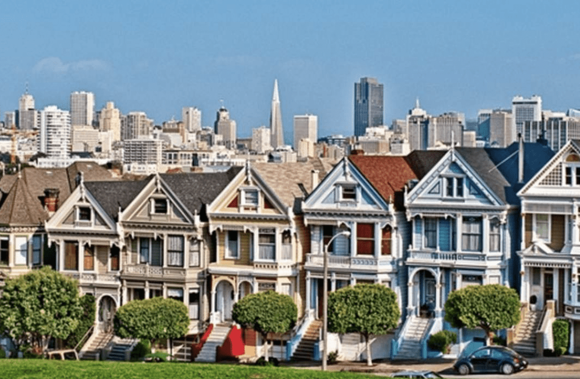 Painted Ladies of San Francisco | San Francisco Sightseeing | Times of  India Travel