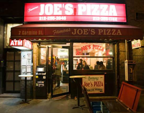 Joe's Pizza, New York - Get Joe's Pizza Restaurant