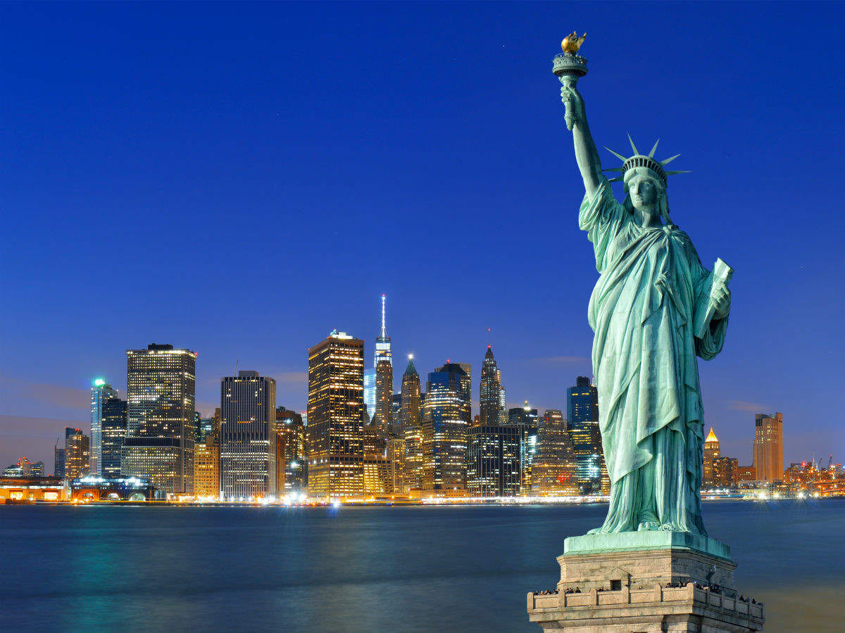 Statue of Liberty reopens; visitors can once again admire Lady Liberty, New  York City - Times of India Travel