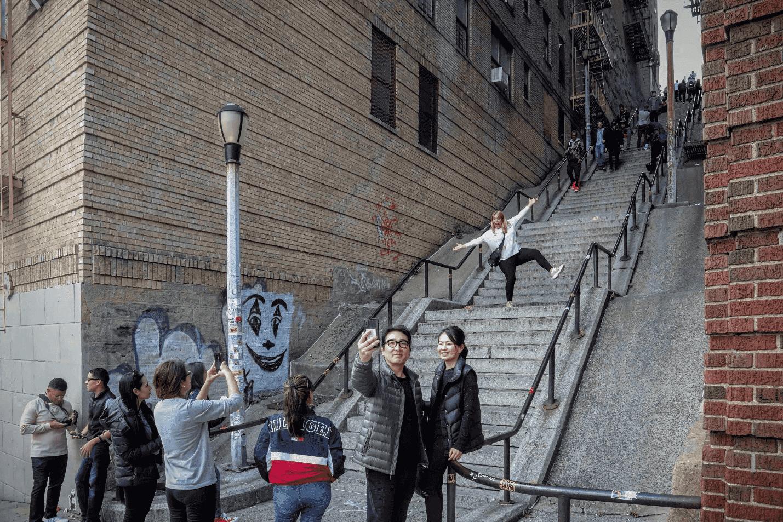 Bronx steps a tourist attraction