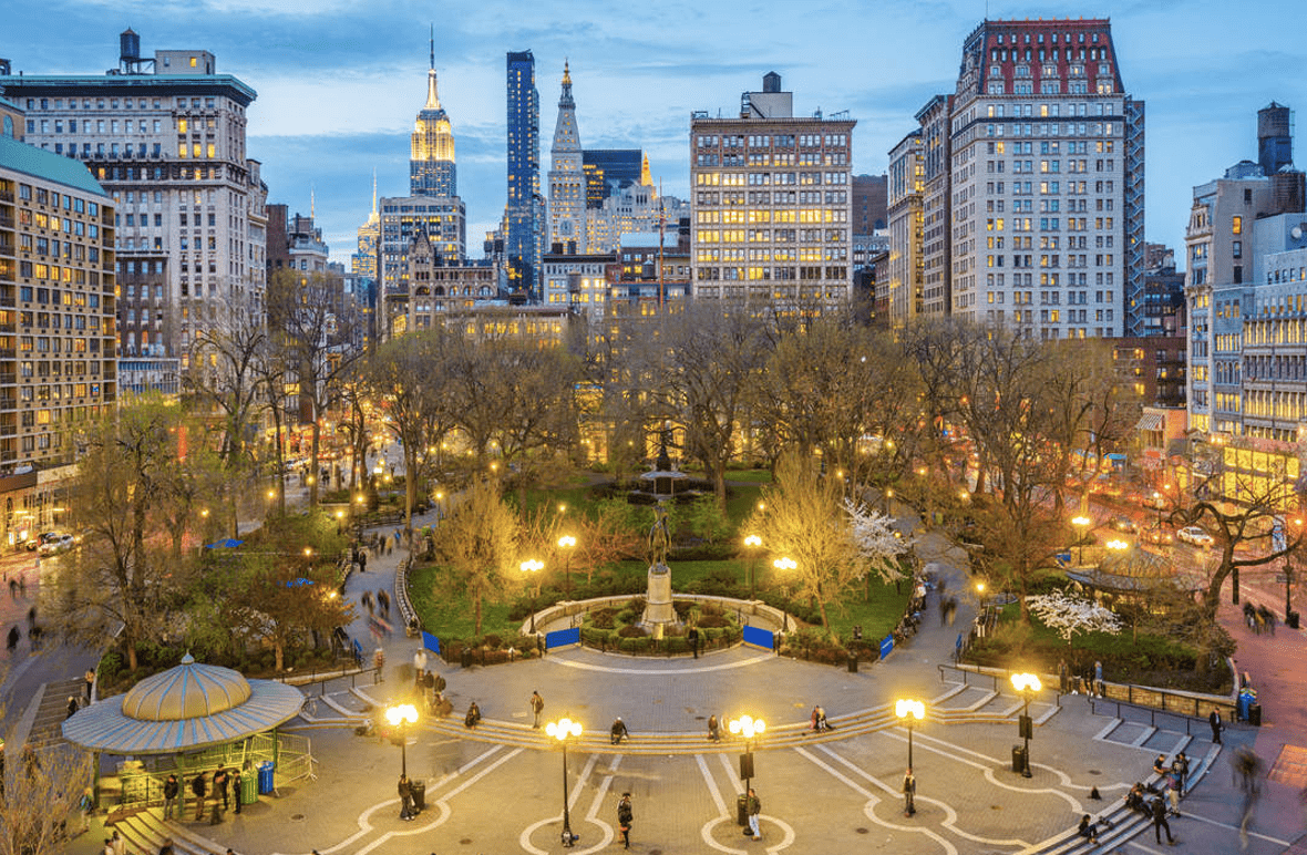New York's iconic Union Square set for an impressive makeover | Times of  India Travel